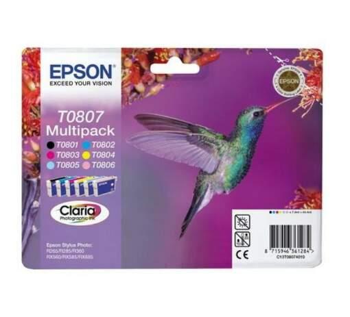 EPSON T08074021 MULTIPACK 6 color Blister
