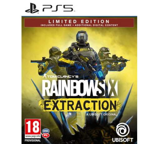 Rainbow Six: Extraction (Limited Edition) - hra na PS5