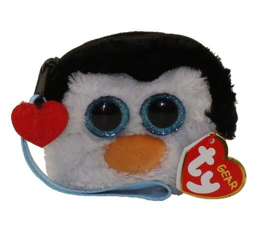 TY 95212 tučňák WADDLES dětská taštička na zápěstí