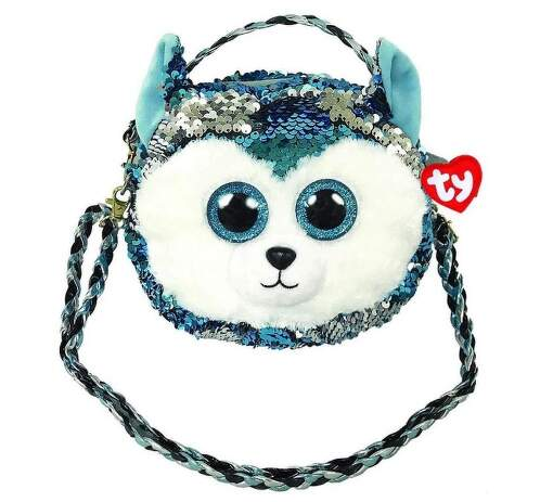 TY 95125 husky SLUSH dětská taška přes rameno