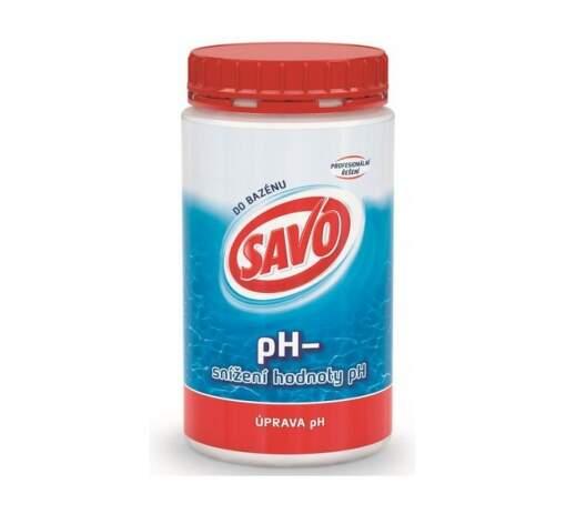 SAVO pH- 1,2 kg bazénová chémia