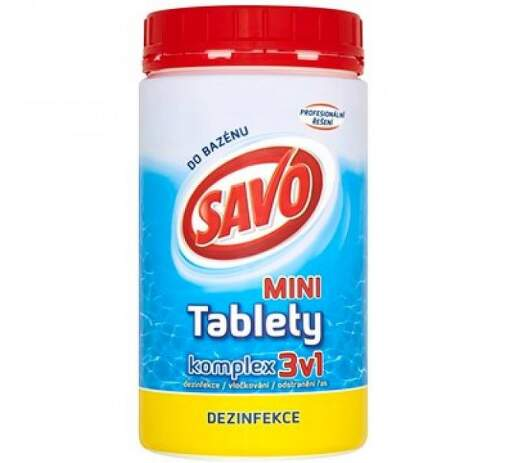 SAVO tablety 3v1 0,8kg bazénová chémia