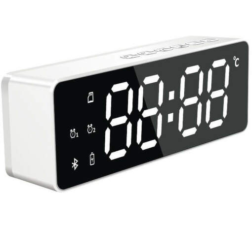 POWER+ AlarmClock WHI