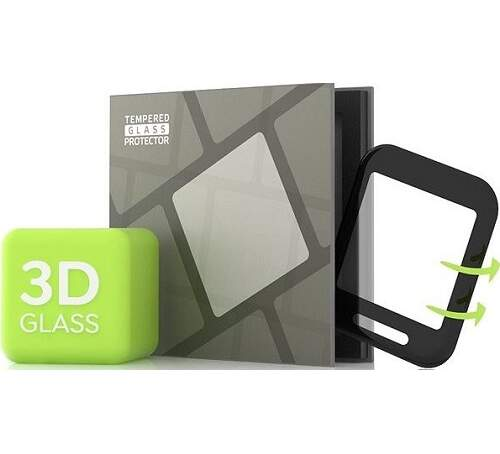 Tempered Glass Protector 3D tvrdené sklo pre Amazfit Bip/Bip S čierna