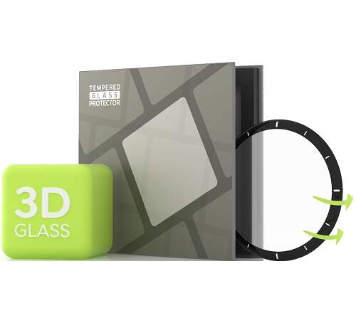 Tempered Glass Protector 3D tvrdené sklo pre Amazfit GTR 2e čierna