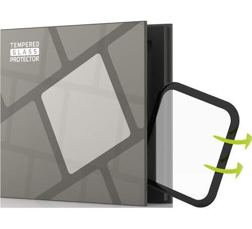 Tempered Glass Protector 3D tvrdené sklo pre Apple Watch 4/5/6/SE 40mm čierna
