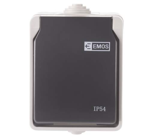 EMOS IP54, Nástenná zásuvka.1