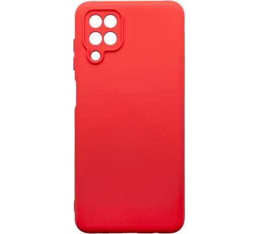 Mobilnet silikónové puzdro pre Samsung Galaxy A12 červené