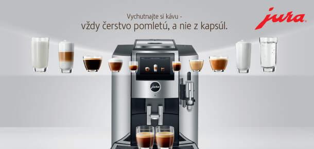 Espresso kávovary Jura