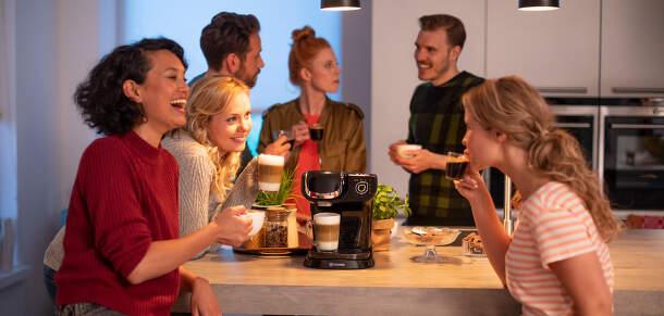 Kapsulové kávovary Bosch Tassimo