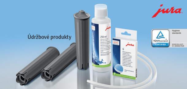Originálne údržbové produkty a príslušenstvo JURA